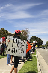 BLM Peaceful Protest in Irvine