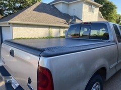 Installed new parts for my Truxedo tonneau cover, thanks to Truxedo lifetime warranty