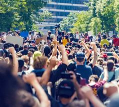 2020.05.31 Protesting the Murder of George Floyd, Washington, DC USA 152 35040