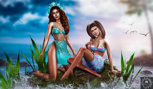 The Human Mermaids