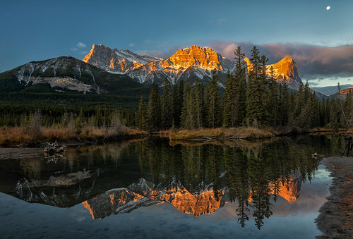 A Fine Morning in Canmore AB