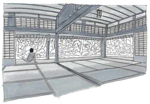 Japan, Hagi, Kikuya residence