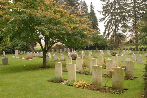 St Symphorien Military Cemetery Mons Belgium