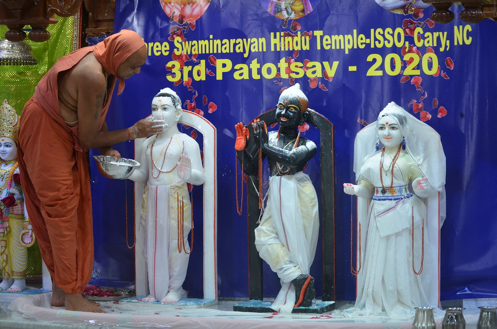 3rd Patotsav Celebrations - Raleigh Mandir