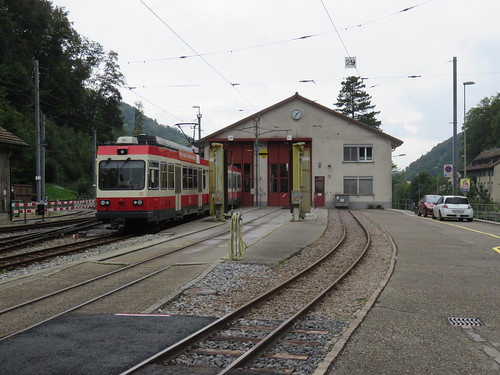 Soon to be retired BDe 4/4 of the Waldenburgerbahn