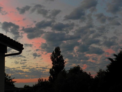 Ciel pré-orageux