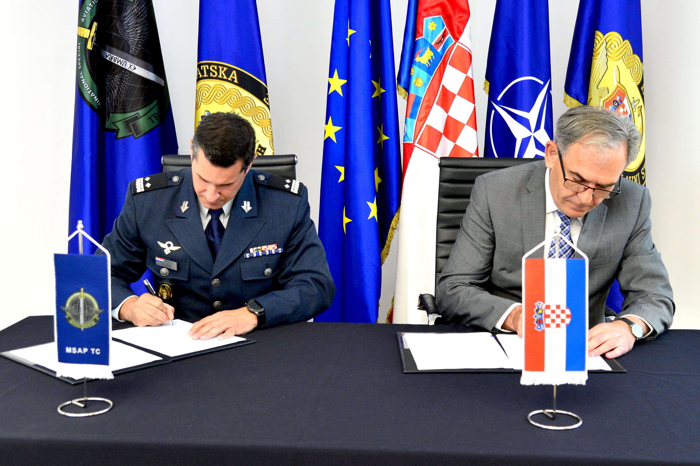 Potpisan Tehnički sporazum između MORH-a i MSAP TC-a