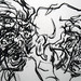 2007.01-2007.12[3] Shanghai Sanlintang Studio Pastel on paper 上海三林塘工作室 纸上炭精条(119.4x88.9cm)-157