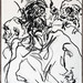 2007.01-2007.12[3] Shanghai Sanlintang Studio Pastel on paper 上海三林塘工作室 纸上炭精条(119.4x88.9cm)-153