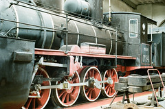 Maintenance and new colour for the locomotive Ow-841