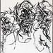 2007.01-2007.12[3] Shanghai Sanlintang Studio Pastel on paper 上海三林塘工作室 纸上炭精条(119.4x88.9cm)-151