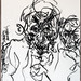 2007.01-2007.12[3] Shanghai Sanlintang Studio Pastel on paper 上海三林塘工作室 纸上炭精条(119.4x88.9cm)-152
