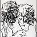 2007.01-2007.12[3] Shanghai Sanlintang Studio Pastel on paper 上海三林塘工作室 纸上炭精条(119.4x88.9cm)-156