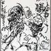 2007.01-2007.12[3] Shanghai Sanlintang Studio Pastel on paper 上海三林塘工作室 纸上炭精条(119.4x88.9cm)-160