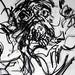 2007.01-2007.12[3] Shanghai Sanlintang Studio Pastel on paper 上海三林塘工作室 纸上炭精条(119.4x88.9cm)-154