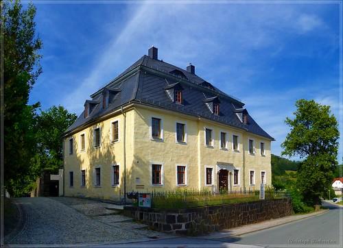 Pfarrhaus an der Dorfkirche Neusalza-Spremberg
