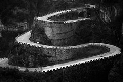 Zhangjiajie and Tianmen Mountain in Black and White - 2019