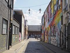Redchurch Street on a lockdown Sunday