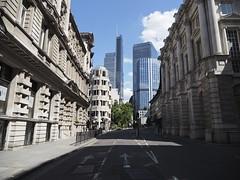 The City on a deserted Sunday