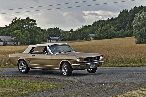 Ford Mustang Convertible 1966 (8221)