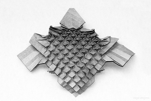 In-between-step Origami Echidna (Steven Casey)