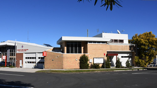 Cardiff Fire Station, Cardiff, Newcastle, NSW.