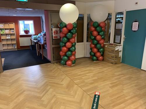 Ballonpilaar Breed Rond Laurens Woonzorglocatie Den Hoogenban Rotterdam Locatie Blijdorp