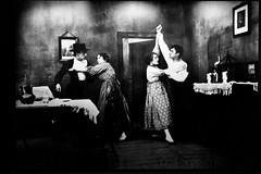 """José de Almada Negreiros as an Actor in """"The Convicted"""" Film [Scene Photography] (1921)"""