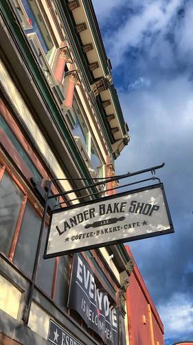 Lander Bakery Sign