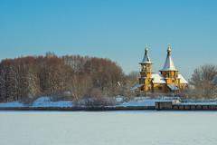 Успенская церковь в Витенево / Dormition Church in Vitenevo