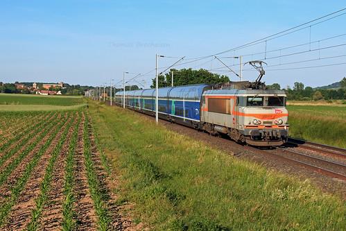 BB 22317 & tronçon 810 sur le train 806343/2 Belfort-Châlons en Champagne; Hochfelden 27/05/2020