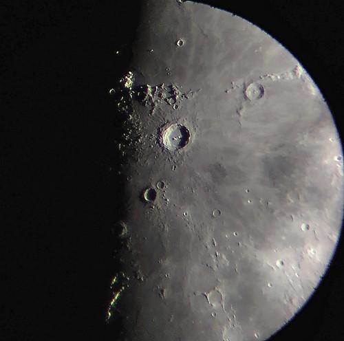 Moon May 31st 2020, sunrising over Copernicus