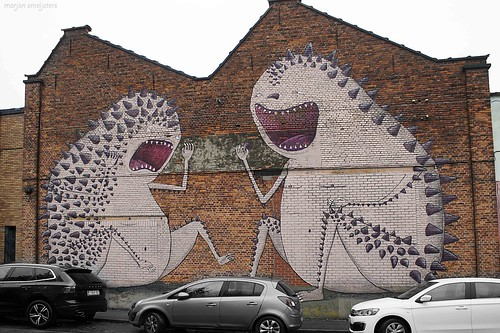 Street Art Ghent, Belgium (Bisser)