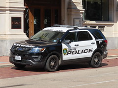 Houston Police Department Ford Police Interceptor Utility