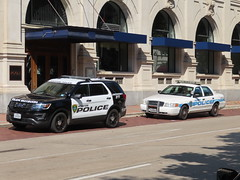 Houston Police Department Ford Crown Victoria and Police Interceptor Utility