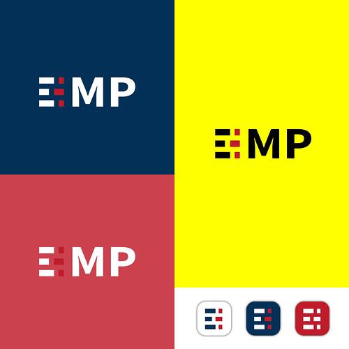 Financial Design. Flat Logo Design. Minimalist Logo.