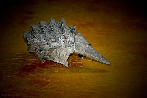 Origami Echidna (Steven Casey)