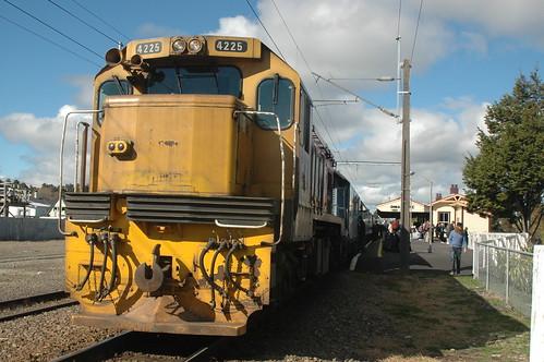 Locomotive on the Overlander