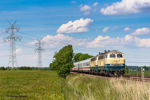 Railsystems RP 218 480-2 & 218 490-1 | Landrecht, BÜ Hove