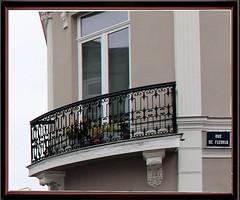Balcons rue de Fleurus