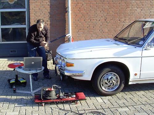 1978 Tatra 613 3D scan