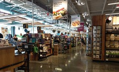 Whole Foods front checklanes