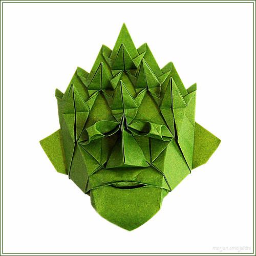 Origami Green Man (Nick Robinson)