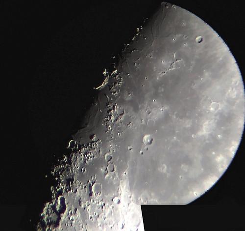 Moon Jun 1st 2020, sunrising over Mare Humorum