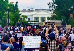 2020.06.03 Protesting the Murder of George Floyd, Washington, DC USA 155 50231