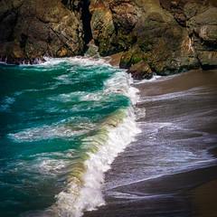 Breaker @ Beach South of Big Creek Bridge, Big Sur, CA #3