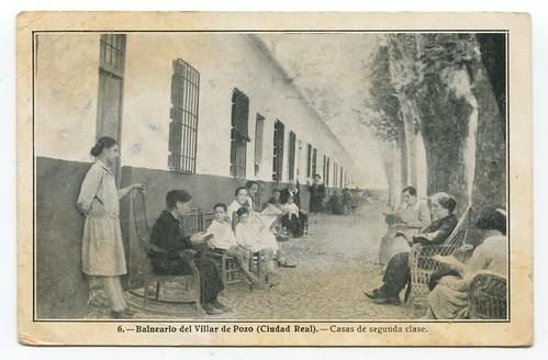 Balneario de Villar del Pozo (Ciudad Real) : casas de segunda clase