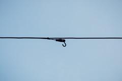 Skyhook. A hook in the sky
