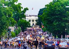 2020.06.03 Protesting the Murder of George Floyd, Washington, DC USA 155 50204