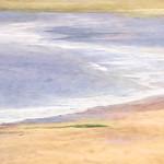 Figure on Tenby Beach by Paul Lambeth